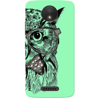 PEEPAL Motorola Moto C Plus Designer & Printed Case Cover 3D Printing Ulloo Design