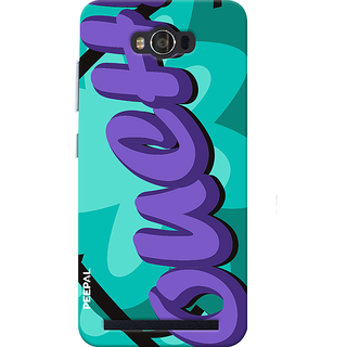 PEEPAL Asus Zenfone Max Designer & Printed Case Cover 3D Printing Ouch Design
