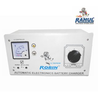 Rahul X-Zone a3 KVA/12 AMP 90-260 Volt Main Line Use Up to 3 KVA Load Autocut Raf Taf Voltage Stabilizer