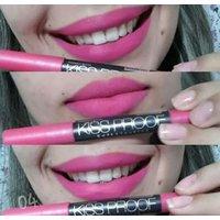 MeNow KISS PROOF04 Powdery Matte Soft Lipstick Lip Crayon (Coral Barbie Pink)