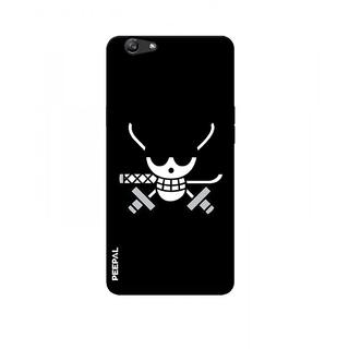 PEEPAL Oppo F1s Designer & Printed Case Cover 3D Printing Pirate Design