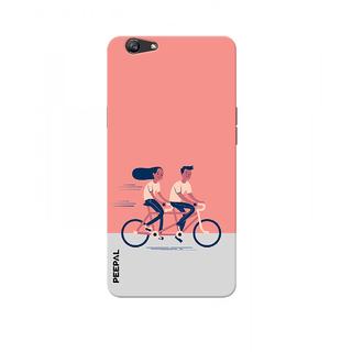 PEEPAL Oppo F1s Designer & Printed Case Cover 3D Printing Love Drive Design