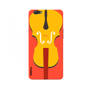 PEEPAL Oppo F1s Designer & Printed Case Cover 3D Printing Music Design