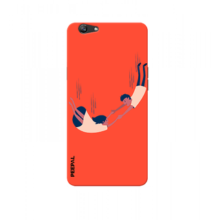 PEEPAL Oppo F1s Designer & Printed Case Cover 3D Printing Love In The Air Design