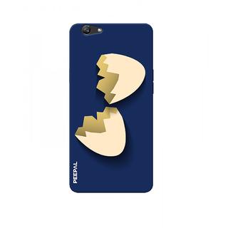 PEEPAL Oppo F1s Designer & Printed Case Cover 3D Printing Egg Shell Design