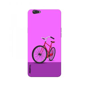 PEEPAL Oppo F1s Designer & Printed Case Cover 3D Printing Ride Design