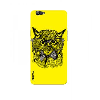 PEEPAL Oppo F1s Designer & Printed Case Cover 3D Printing Gentelman Uloo Design