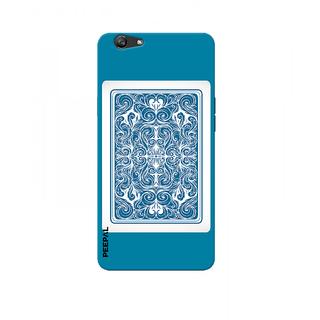 PEEPAL Oppo F1s Designer & Printed Case Cover 3D Printing Deck Of Cards Design