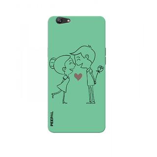 PEEPAL Oppo F1s Designer & Printed Case Cover 3D Printing Love Design