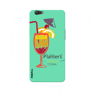PEEPAL Oppo F1s Designer & Printed Case Cover 3D Printing Cocktail Design