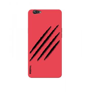 PEEPAL Oppo F1s Designer & Printed Case Cover 3D Printing Wolverine Design
