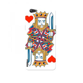 PEEPAL Oppo F1s Designer & Printed Case Cover 3D Printing Card Of King Design