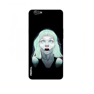 PEEPAL Oppo F1s Designer & Printed Case Cover 3D Printing Nightmare Design