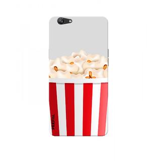 PEEPAL Oppo F1s Designer & Printed Case Cover 3D Printing Popcorn Design