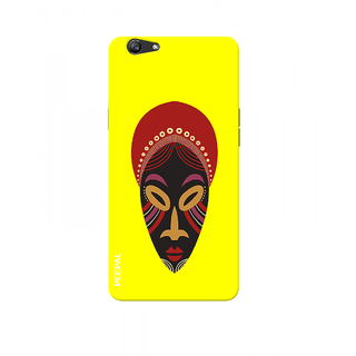 PEEPAL Oppo F1s Designer & Printed Case Cover 3D Printing Art Multi Colour Design