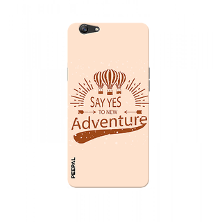 PEEPAL Oppo F1s Designer & Printed Case Cover 3D Printing Adventure Design