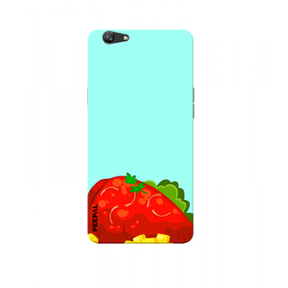 PEEPAL Oppo F1s Designer & Printed Case Cover 3D Printing Fruit Design
