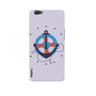 PEEPAL Oppo F1s Designer & Printed Case Cover 3D Printing Sailing Design