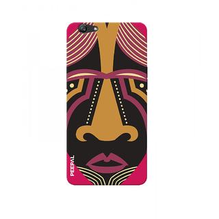 PEEPAL Oppo F1s Designer & Printed Case Cover 3D Printing Art Multi Colour Design