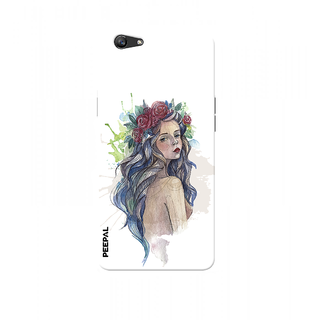 PEEPAL Oppo F1s Designer & Printed Case Cover 3D Printing Queen Design