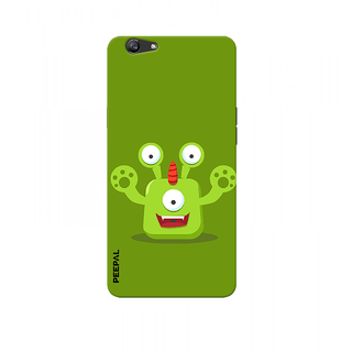 PEEPAL Oppo F1s Designer & Printed Case Cover 3D Printing Cartoon Design