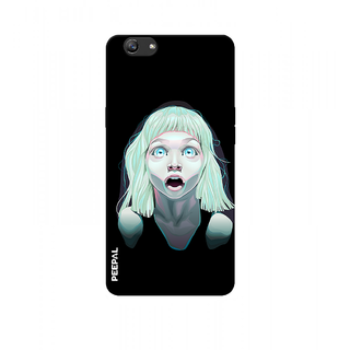PEEPAL Oppo F3 Plus Designer & Printed Case Cover 3D Printing Nightmare Design