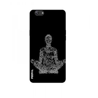 PEEPAL Oppo F3 Plus Designer & Printed Case Cover 3D Printing Yoga Design