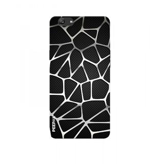 PEEPAL Oppo F3 Plus Designer & Printed Case Cover 3D Printing Art Multi Colour Design