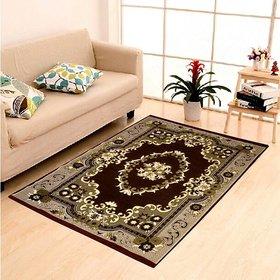 K DECOR Exclusive Cotton Jacquard Designer Carpet For Living Room (4.5 Feet X 7 feet)