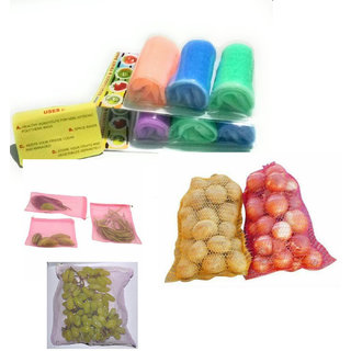 Fruits And Vegetables Fridge Bags Storage Are Very Handy For Separating Storing