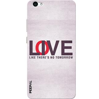 PEEPAL Vivo V5 Designer & Printed Case Cover 3D Printing Love Or Live Design