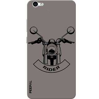PEEPAL Vivo V5 Designer & Printed Case Cover 3D Printing Rider Design