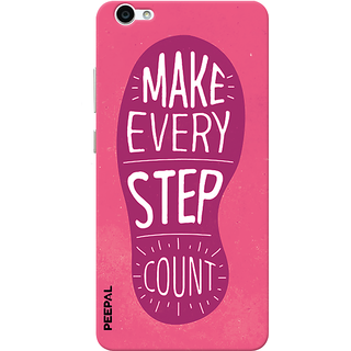 PEEPAL Vivo V5 Designer & Printed Case Cover 3D Printing Quote Design