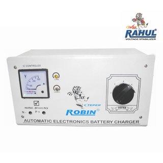 Rahul X-ZONE c3 Digital 3 KVA/12 AMP 90 Volt Main Line Use Up to 3 KVA Load Autocut Raf Taf Copper Digital Stabilizer