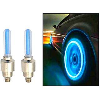 MOCOMO Imported Tyre LED Flash Light / Wheel light for all (Universal) bike and car
