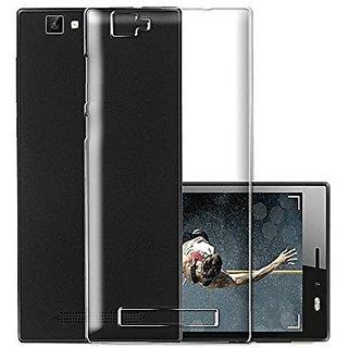 ECS Transparent Soft Back Case Cover For Karbonn K9 Smart Selfie