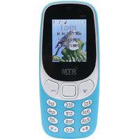 MTR MT3310 DUAL SIM MOBILE PHONE IN SKY BLUE COLOR