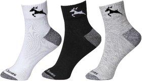 CalvinJones Unisex Ankle Socks - Pack of 3
