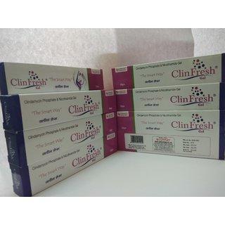 Clin Fresh gel 20gm (pack of 6)