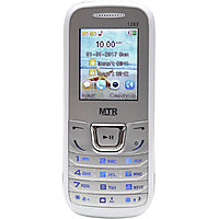 MTR MT1282 DUAL SIM MOBILE PHONE WHITE