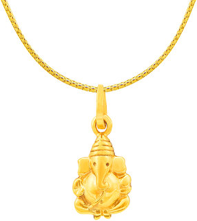 RSBL BIS Hallmark Ganesha Pendant 22kt 1grm