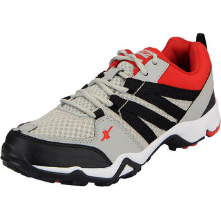 Sparx Grey Black Mens Sports Running Shoes