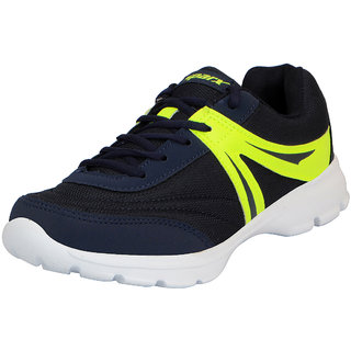 Sparx Navy Green Mens Sports Running Shoes