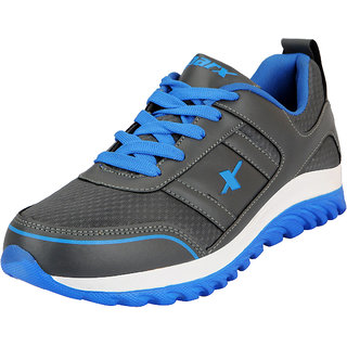 Sparx Grey Blue Mens Sports Running Shoes