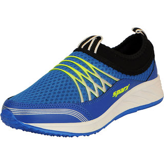 Sparx Blue Green Mens Sports Running Shoes