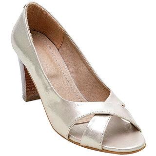 4b6e9c910f6 Buy Glitzy Galz Women s Silver Heels Online - Get 40% Off