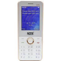MTR MT05 DUAL SIM MOBILE PHONE WHITE/GOLDIN COLOR