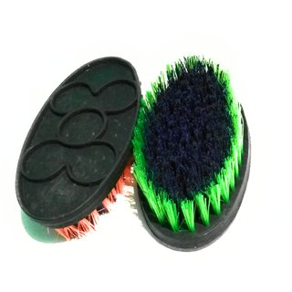 Cleaning brush for floor, use tub, medium  size,  color as per stock (set of 2), Basin cleaning, good plastic grip made,