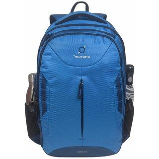 Murano  Slim Look adjustable lock Branded Laptop Backpack