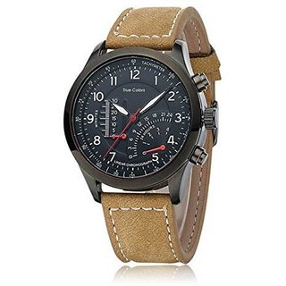 TRUE CHOICE NEW  MEN IN BLACK PERSONALITY Analog Watch - For Men (CURREN MITTER )